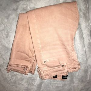 pink LUCKY brand jeans
